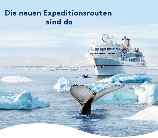 Die neuen Expeditionsreisen sind da